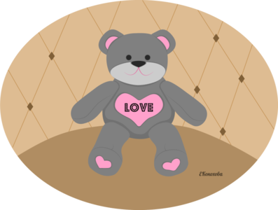 Bear as a gift for Valentine's day