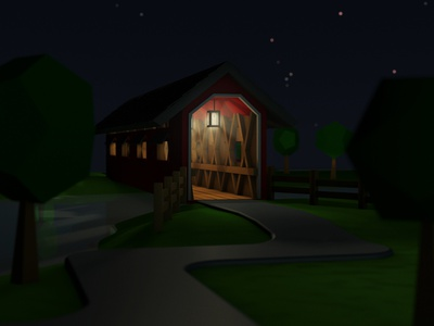 Covered Bridge - Personal Project 3d