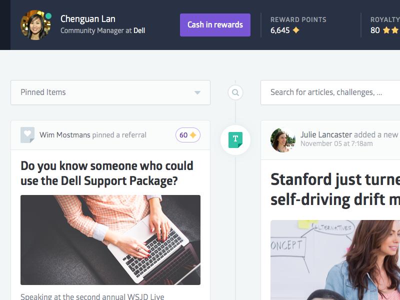 Community Platform (sneak peek) ui user interface ux art direction application design glober web design green purple