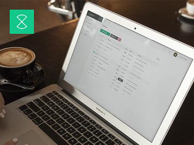 Web App - Expenses Overview (Live view) atlas grotesk green expenses overview dashboard application design web app ui ux web design user interface design web application