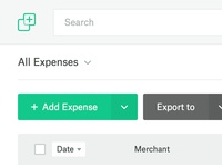 Web App - Expenses Overview