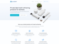 Marketing site auradent 2x