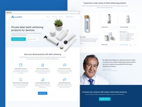 Product Marketing Site - Auradent