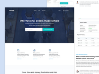 FinTech - Marketing Site Homepage