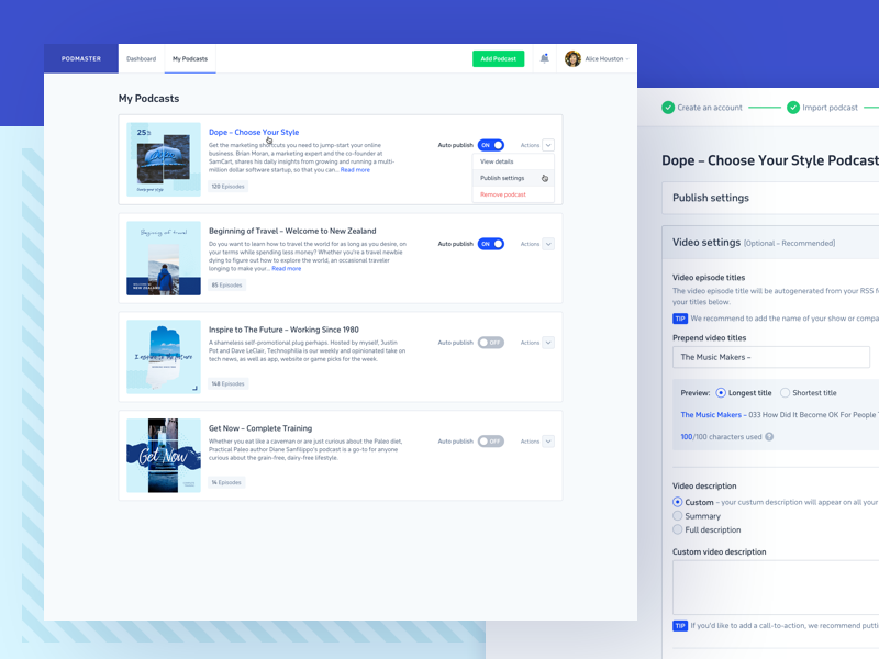 SaaS + Bootstrapping = 🙌 dashboard ui admin modern startup bootstrapping ui design web app product design saas web application