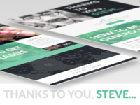 Thanks to you, Steve...