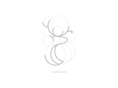 Deer Coffee symbol grid symbol design symbol grid logo grid logodesign deer logo coffee logo symbol