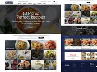 Delallo Homepage Website Design
