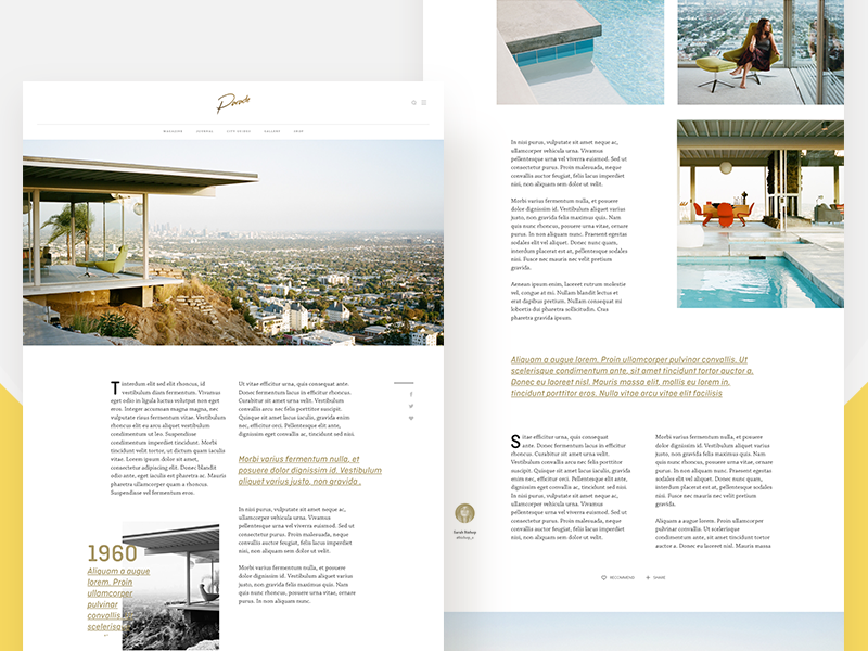 article layout 1 by thomas mckay dribbble dribbble