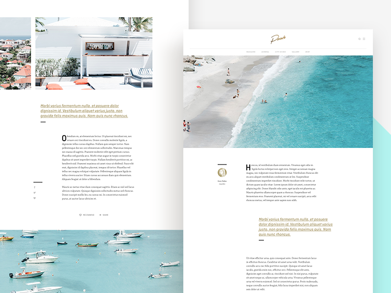 article layout 2 by thomas mckay dribbble dribbble