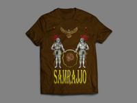 Samrajjo Band T-shirt Design