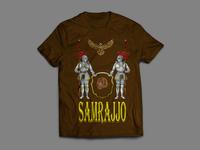 Samrajjo Band T-shirt Design
