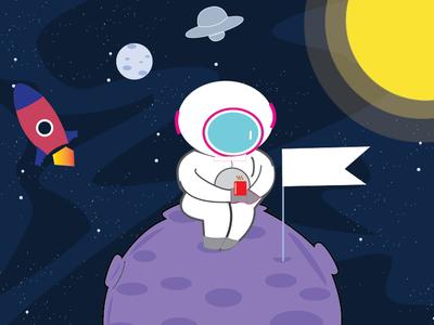 Astronauts on Break- A Space Odyssey