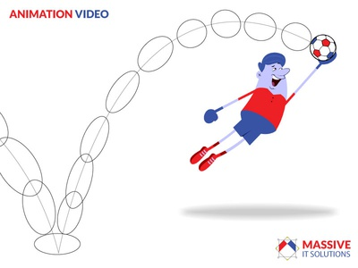 Motion Graphics - 2D Animation motion animation branding animation massive it solutions