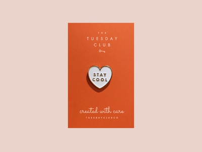Stay Cool Enamel Pin