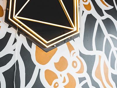 Mural Design (Dark) | Brewpoint Coffee