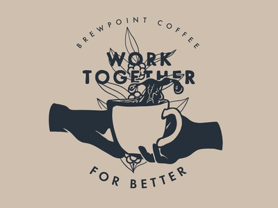 Work Together Stamp - Brewpoint Coffee