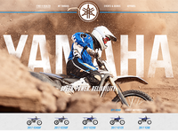 Yamaha Off Road Website Redesign