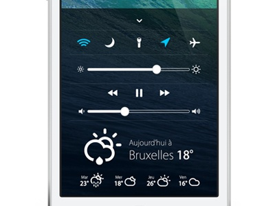Mission Center iOS7 ui ios7 iphone apple flat toggles ux