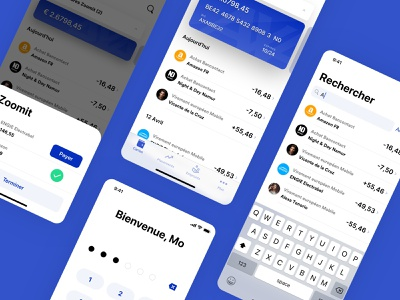 Banking App (Axa concept) iphone ui concept axa redesign ios app banking