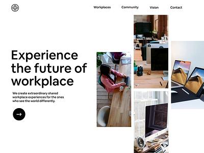 Header exploration 🔭 website branding logo aftereffects interaction concept ui animation app design
