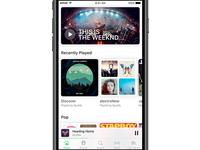 Spotify Home