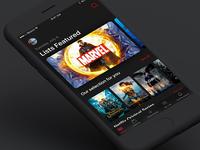 Netflix on iOS 11