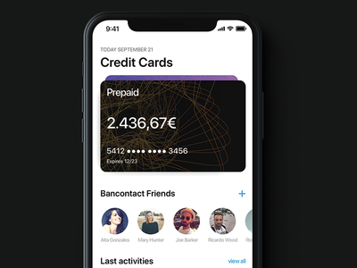 Banking App on iPhone X