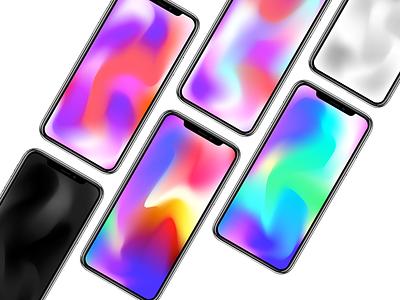 iPhone X WALLPPR 🎨 iphonex wallpaper iphones design free colorful