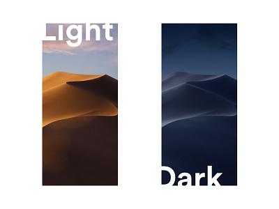 Mojave wallpapers for iPhone X desert mojave apple iphonex wallpaper ios design light dark