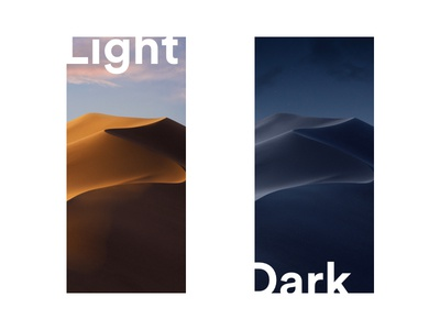 Mojave wallpapers for iPhone X
