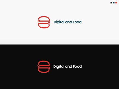 Digital and Food Logo