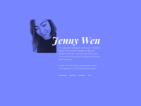 Personal website explorations