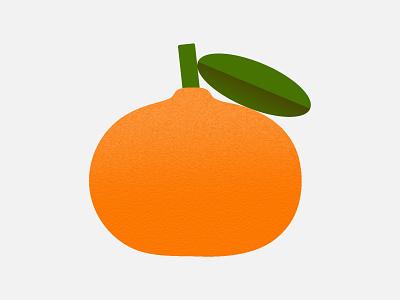 Orange illustrator texture fruit orange colorful minimal mini abstract illustration design bold simple