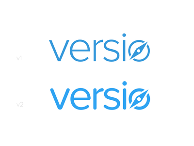 Logo with a Compass logo design logo blue compass icon proxima nova branding