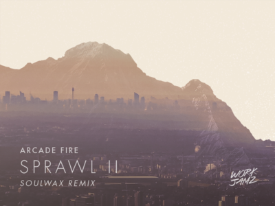 "Sprawl II ""Cover"" work jamz double exposure cover arcade fire music"