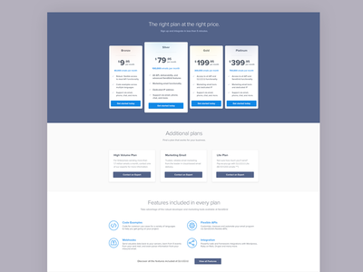 Pricing Page - Sample Redesign