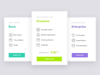Stylish Pricing Table icons line icon futura marketing comparison table pricing