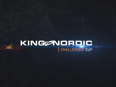 King of Nordic Challenger Cup king of nordic logo cup challenger gaming esports kon