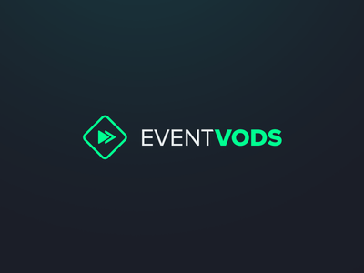 Event Vods Logo gaming esports event vods branding logo