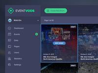 Event Vods UI