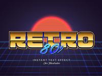 80s Retro Illustrator Graphic Style