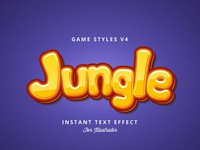 Game Logo Text Effect