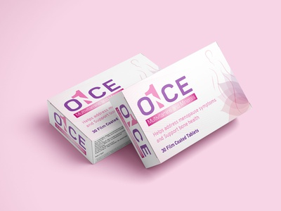 once for woman multivitamin supplement packaging design packaging medicine packaging