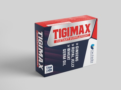 Tigimax design supplement packaging design packaging medicine packaging