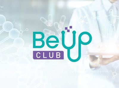 Be up logo design illustration logo