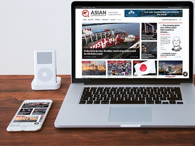 Asian Correspondent relaunch asia sketches redesign news