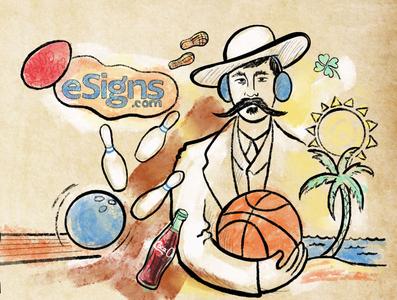 Marketing email illustration illustration digital illustration
