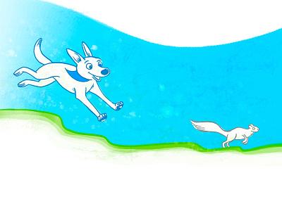 prints squirrel drbl presentation illustration digital illustration