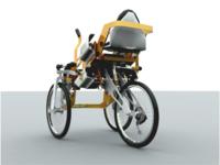 Trike prototype render